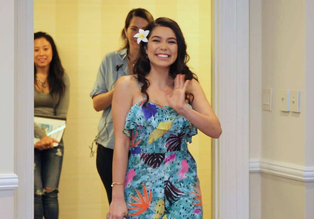 Moana's Auli'i Cravalho Wants To Save Our Oceans