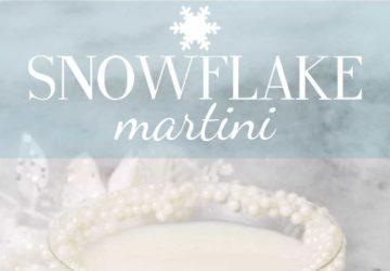 The Snowflake Martini