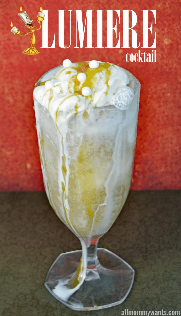 'the Lumiere' Apple Vodka Float – A Dessert Cocktail