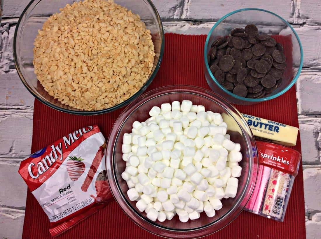 Recipe: Chocolate Heart Rice Krispie Treat