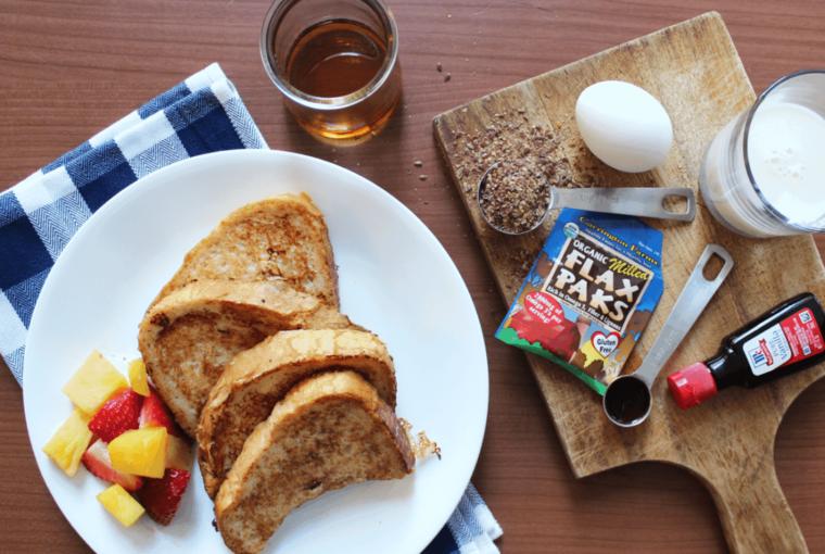 Recipe: Gluten-free Vanilla Flax Seed French Toast