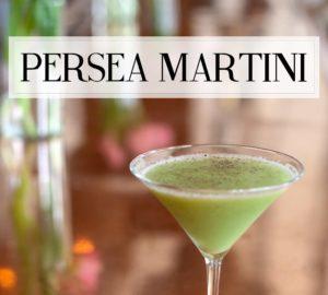 The Persea Martini From Seaspice Miami