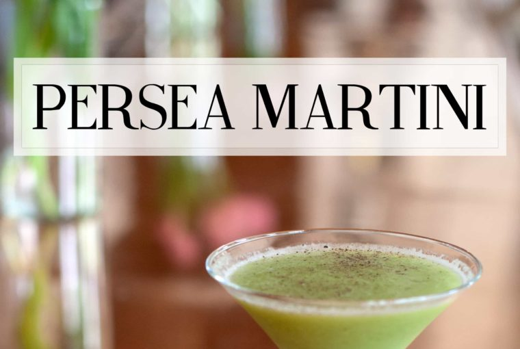 The Persea Martini From Seaspice Miami