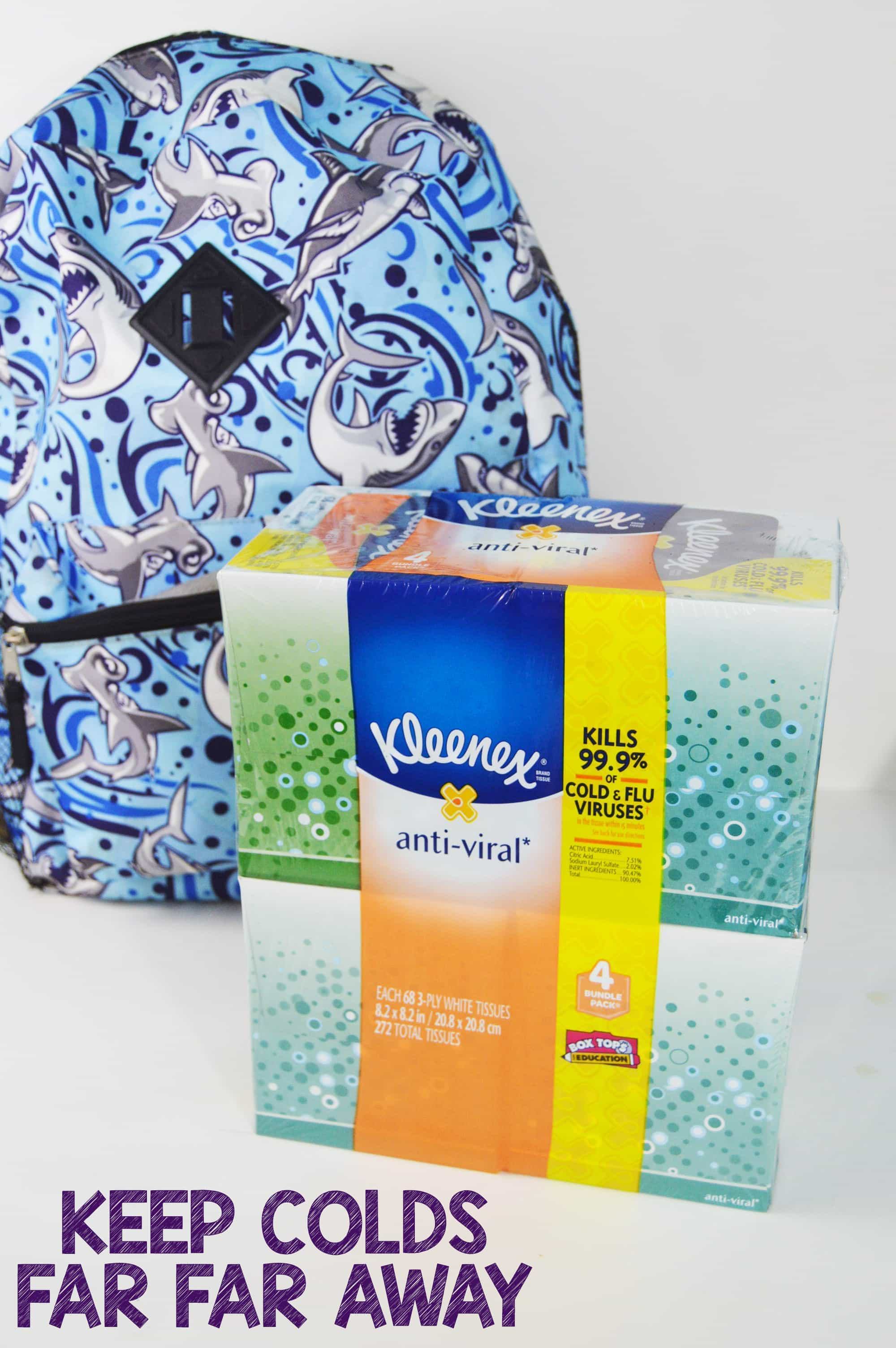 Be A Cold Hero At Home And School With Kleenex Anti-viral (available At Walmart)