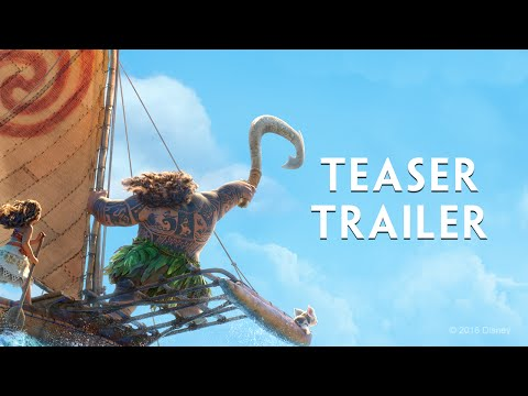 The First Trailer For Disney's Moana Is Here And It's Polynesian Magic
