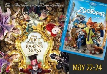 Follow Me Through The Looking Glass To The Alice Red Carpet & Zootopia Dvd Release Event