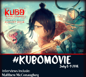 Kubo And The Two Strings Press Junket – July 7-8 2016