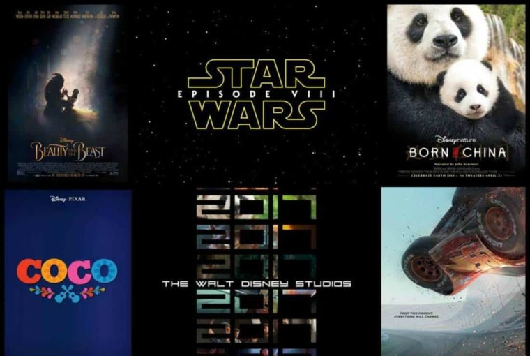 List Of Disney Studios Films For 2017 And Beyond