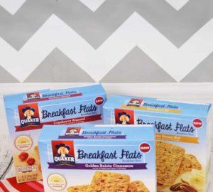 Taste Test: Quaker Breakfast Flats – Breakfast On The Go