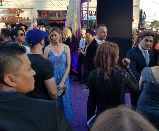 Walking The Red – I Mean Purple – Carpet At The World Premiere Of Guardians Of The Galaxy Vol 2