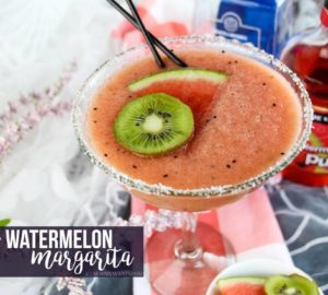 Fresh Kiwi + Watermelon Margarita