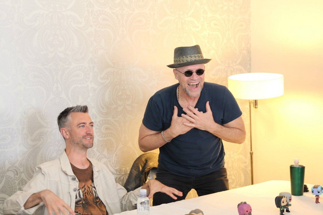 Michael Rooker And Sean Gunn Are Bffs Onscreen And Off In Guardians Of The Galaxy Vol 2 (interview With Spoilers)