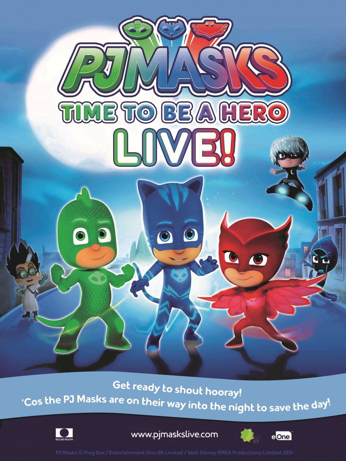 'pj Masks Live! Time To Be A Hero' Coming To A City Near You – List Of Dates
