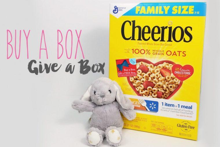 Cheerios – Buy A Box, Give A Box & Baby Shower Gift Idea
