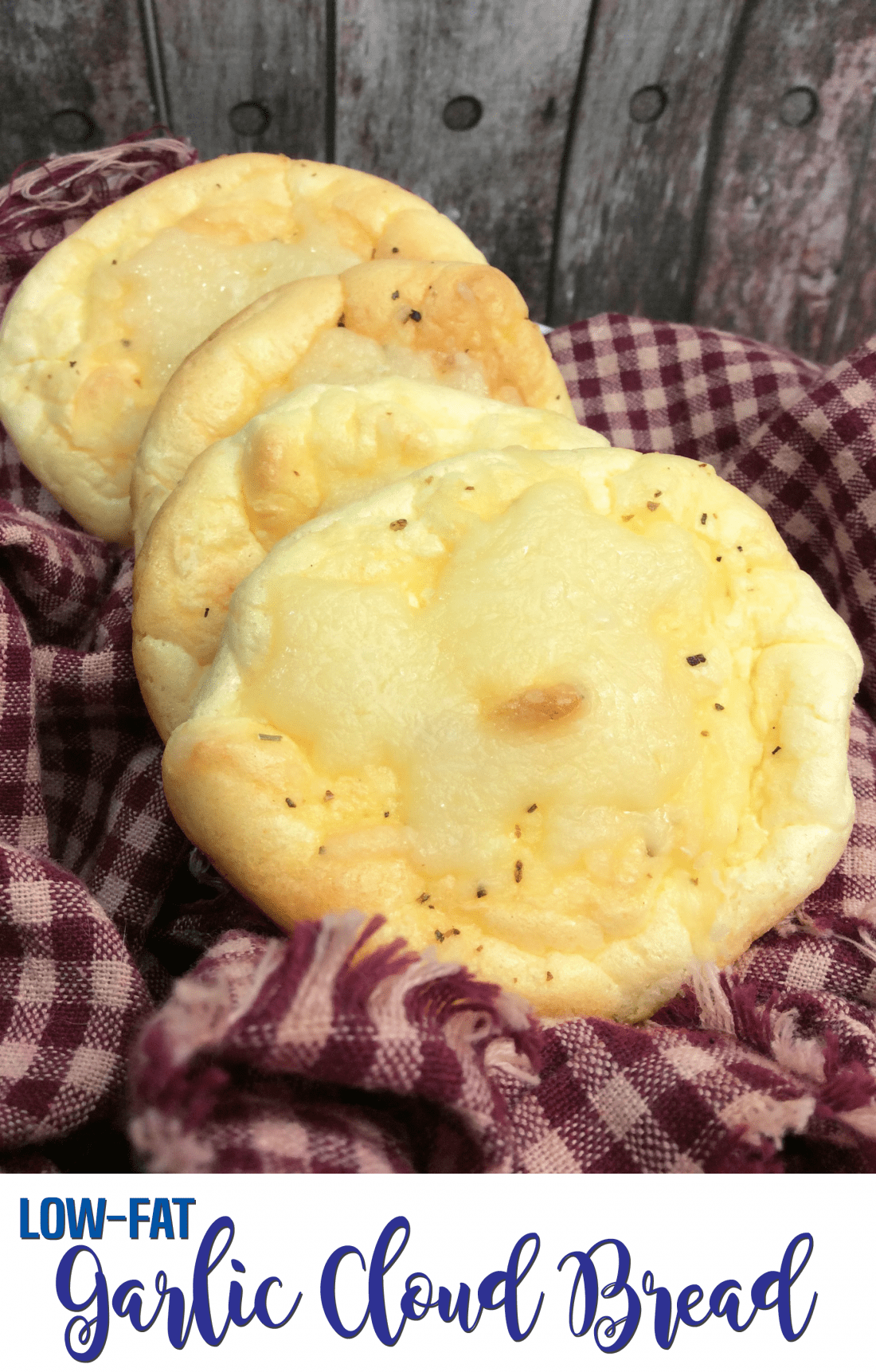Recipe: Garlic Cloud Bread – Low-fat, No-carb, Gluten-free!