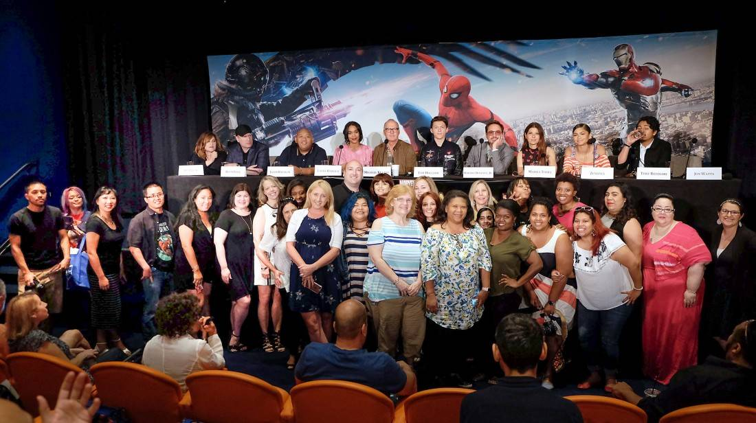 The Spider-man: Homecoming Press Conference…in Gifs