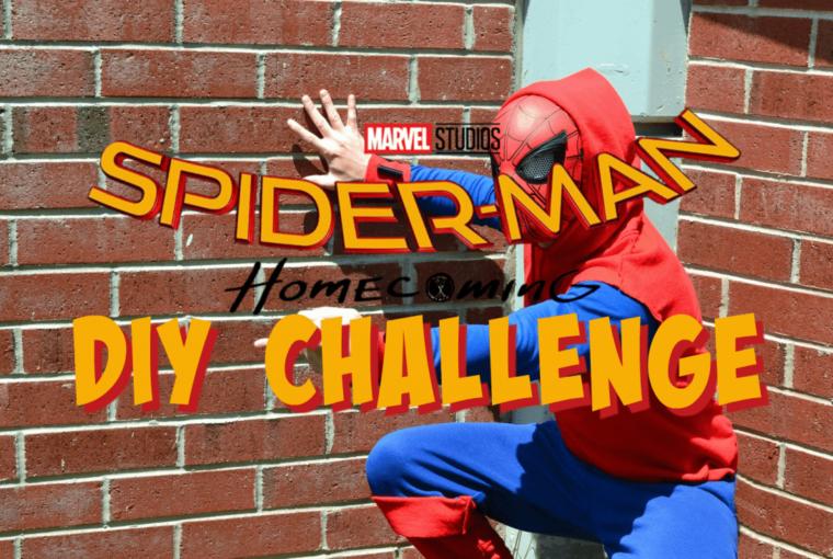 Spider-man: Homecoming Diy Costume Challenge