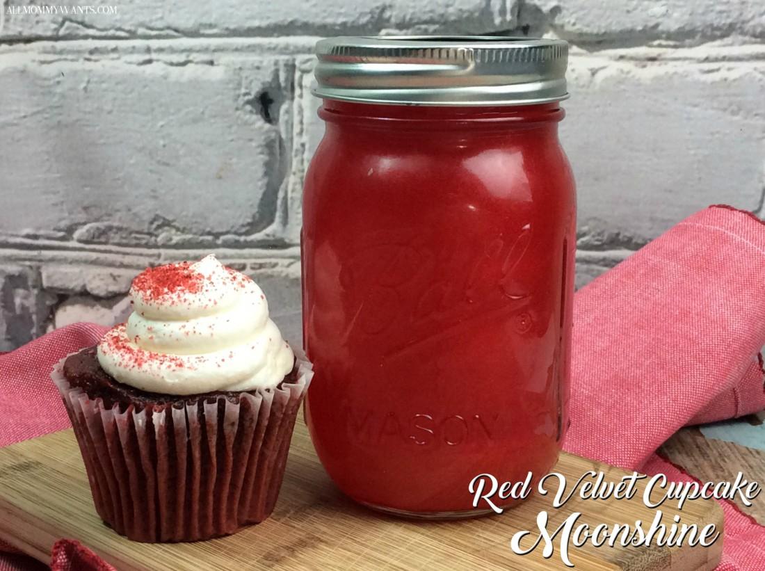 Red Velvet Cupcake Moonshine Plus Red Velvet Moontini Recipe
