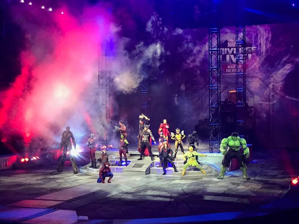 Thrills And Excitement At Marvel Universe Live: Age Of Heroes