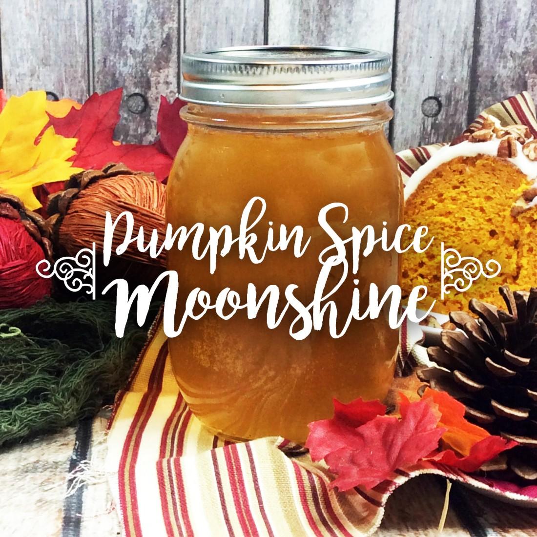 Pumpkin Spice Moonshine