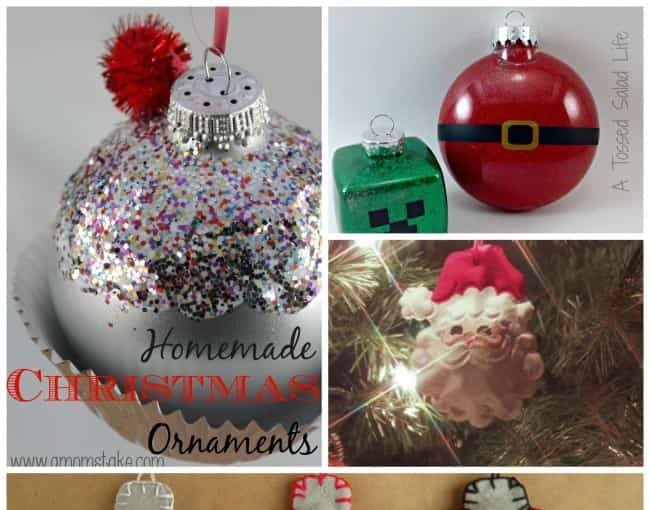 Easy Diy Christmas Ornaments!