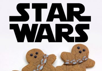 Homemade Chewbacca Gingerebread Man Cookies – Star Wars