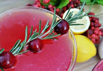 Cranberry Lemon Drop