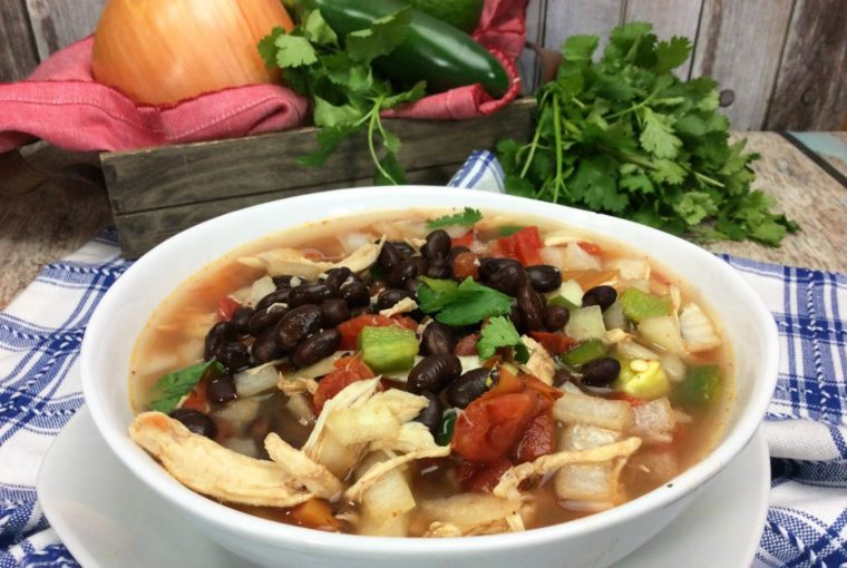 Crock-pot Spanish Soup – 3 Weight Watchers Freestyle Points Per Serving