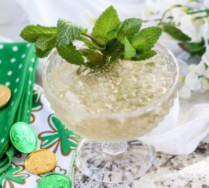 St. Patrick's Day Mint Julep Cocktail