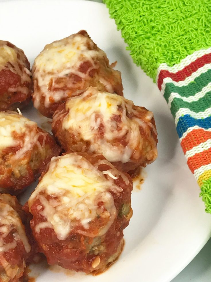 Instant Pot Pizza Meatballs – 4 Ww Freestyle Points Per Serving