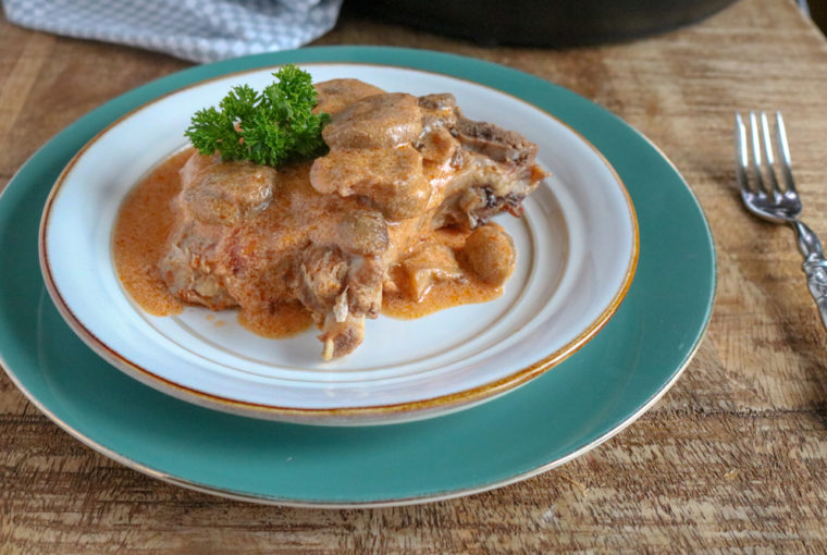 Easy Instant Pot Pork Chops With Tomato Sauce
