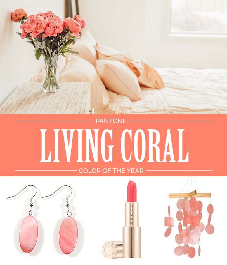 How To Rock Pantone Color Of The Year 2019 – Living Coral