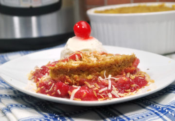 Instant Pot Pineapple Cherry Dump Cake