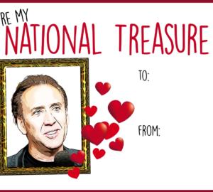 Free Printables – Nicolas Cage Valentine's Day Cards