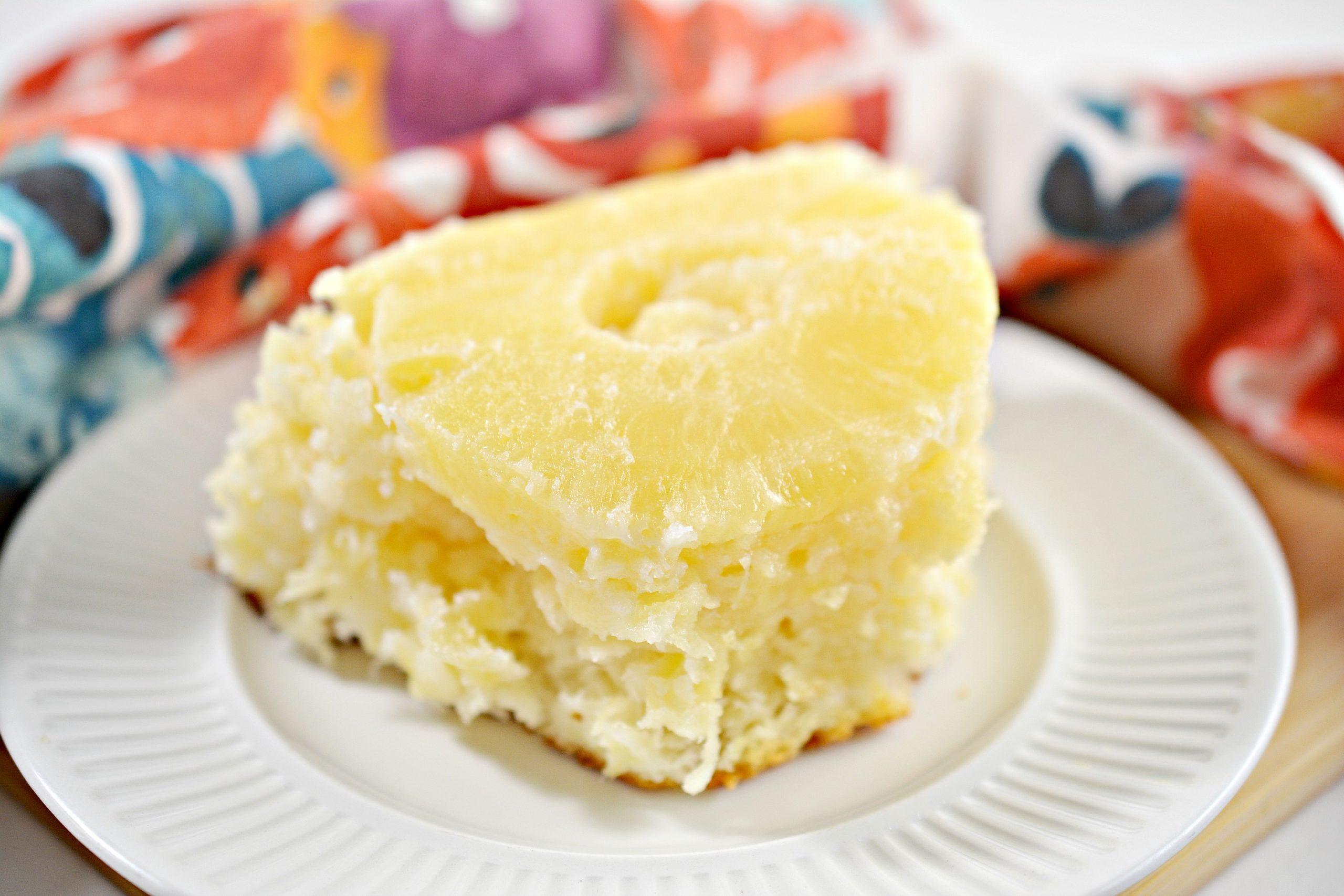2 ingredient pineapple angel food cake