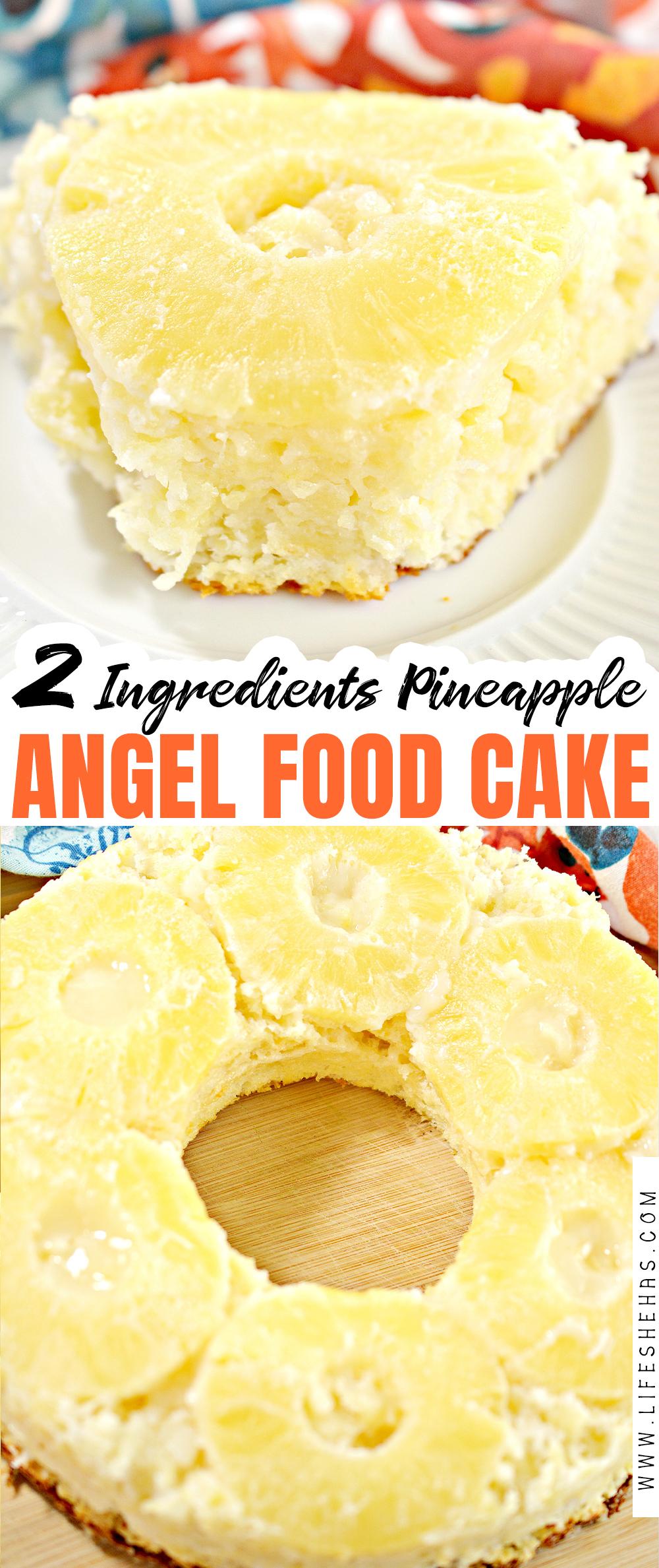 2 ingredient pineapple angel food cake pin