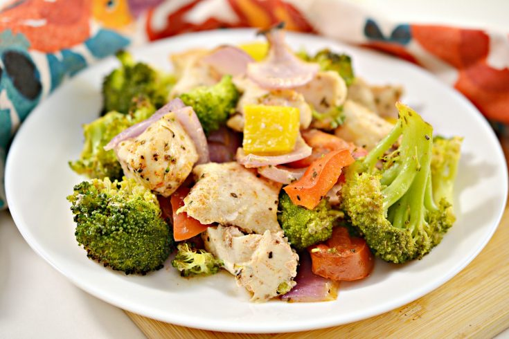 healthy roasted chicken and veggies a3