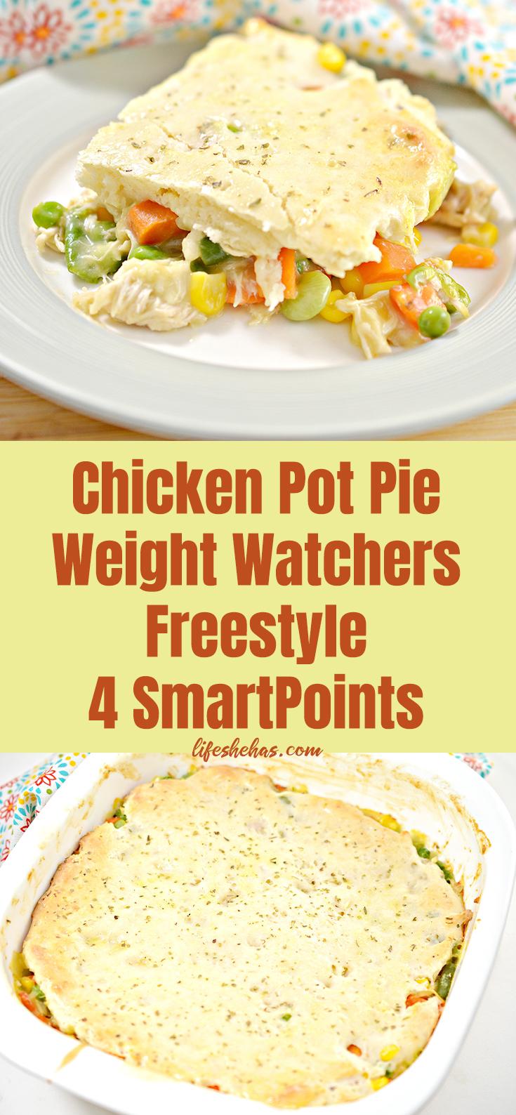 weight watchers chicken pot pie pin