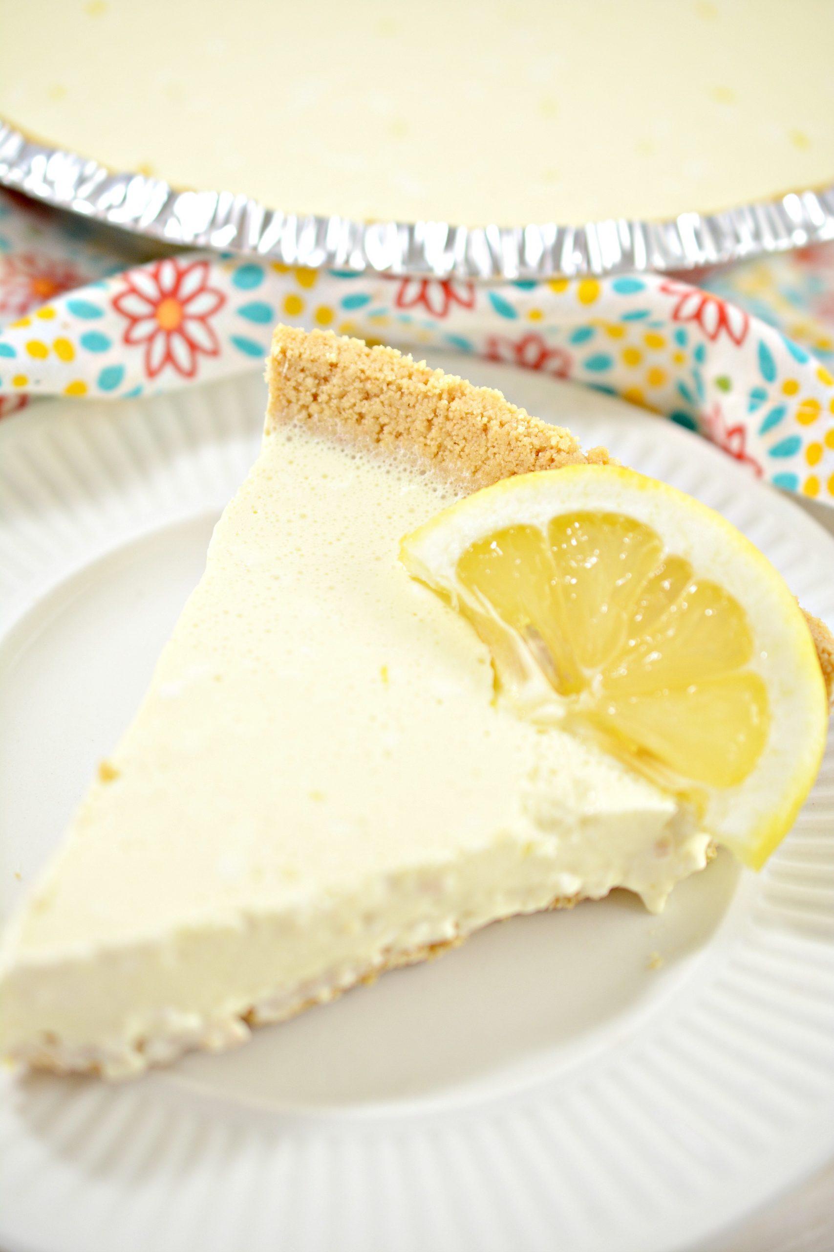 weight watchers lemon chiffon pie 1