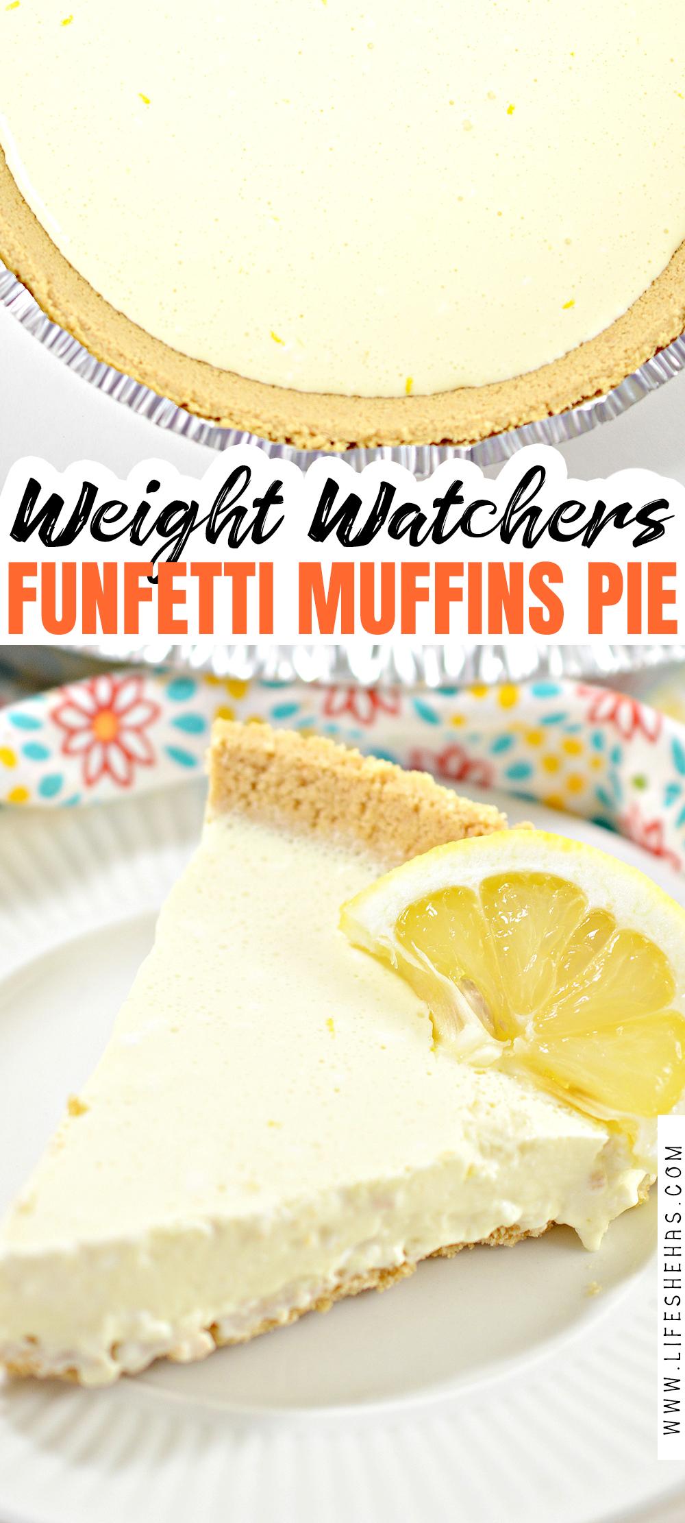 weight watchers lemon chiffon pie