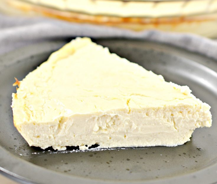 weight watchers skinny points cheesecake card