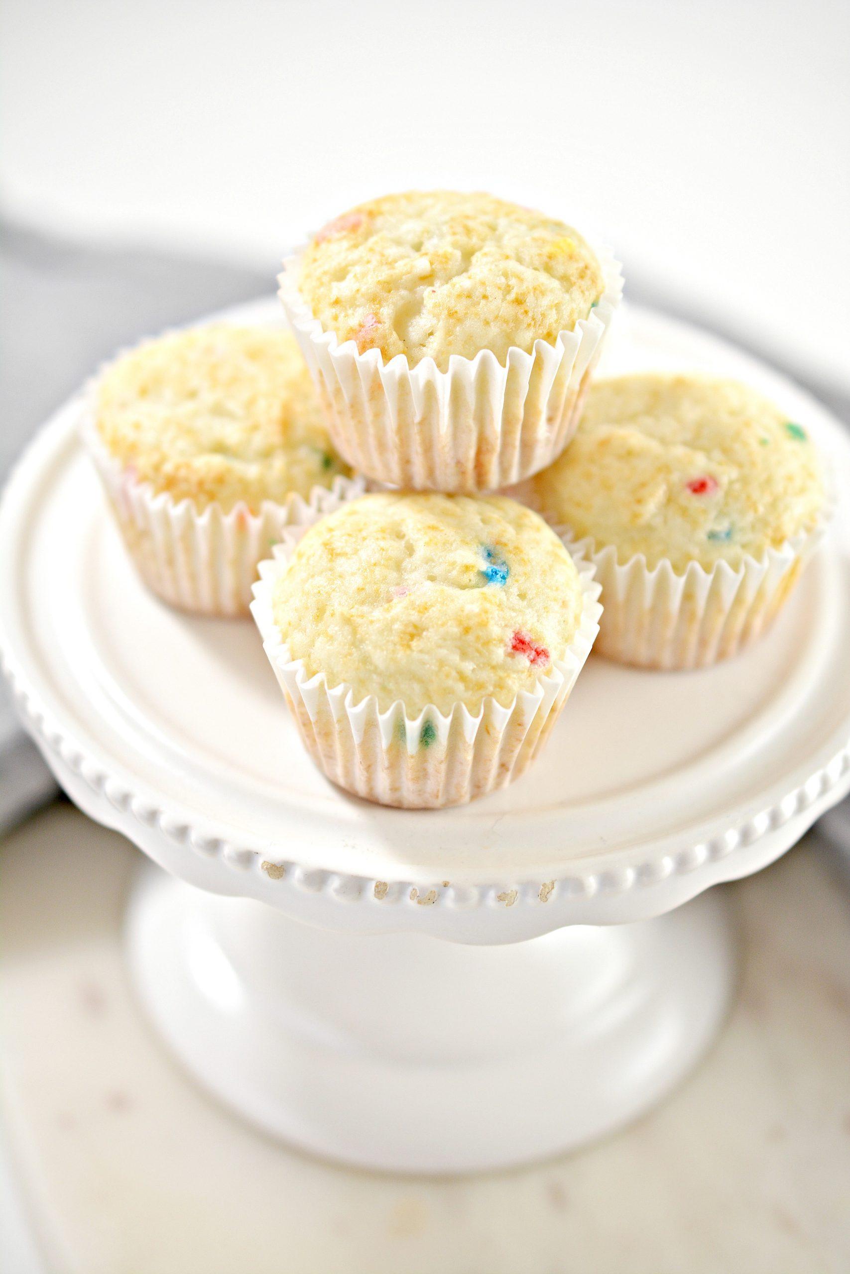 1 point Funfetti Muffins