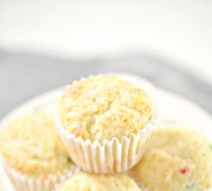 1 point Funfetti Muffins