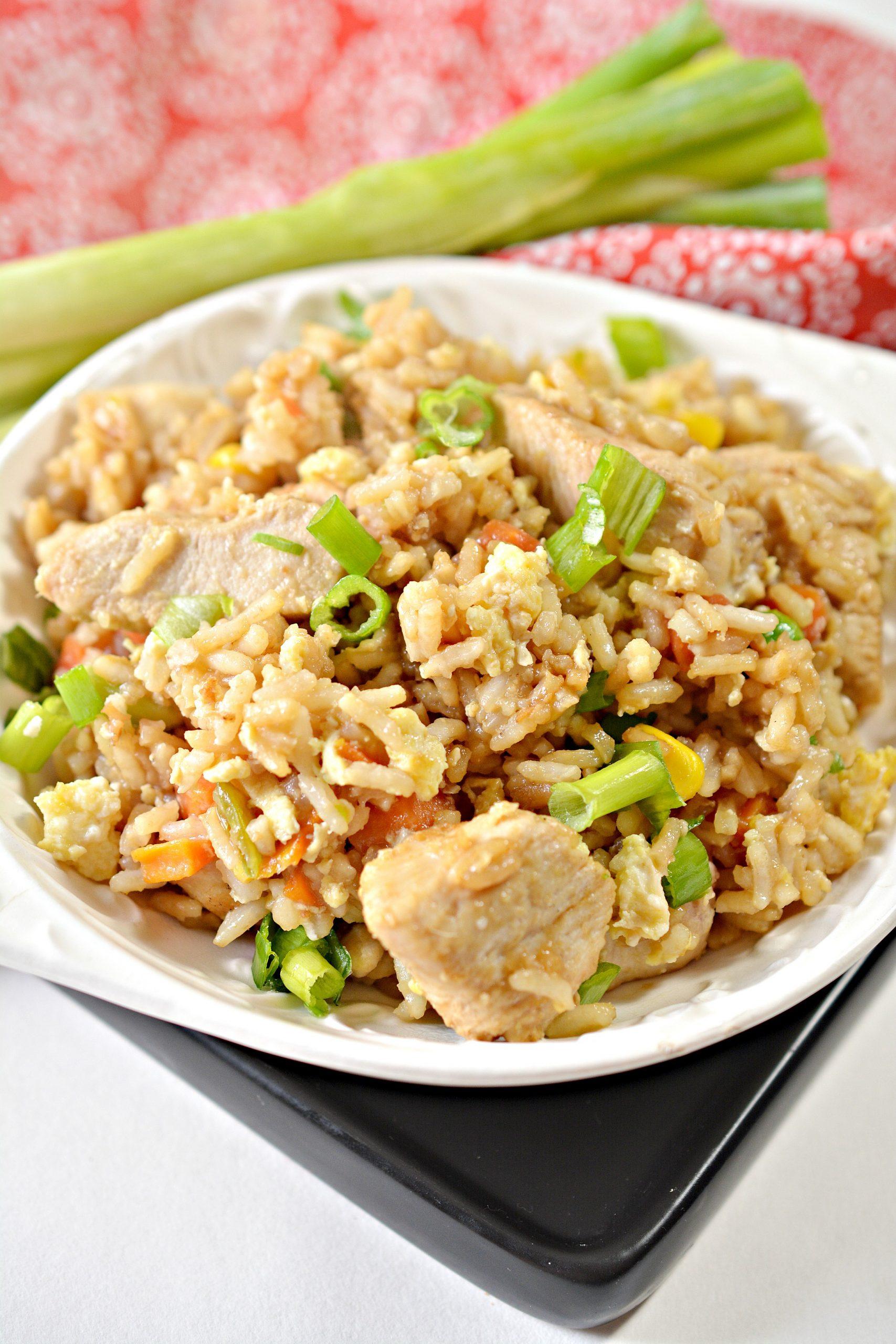 Weight Watchers Chicken Fried Rice