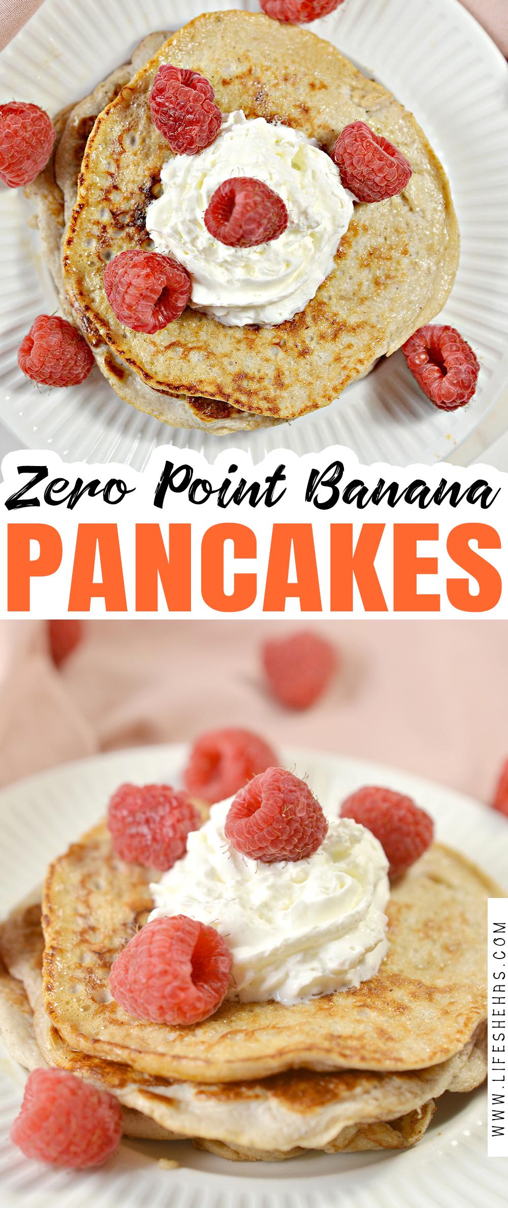 Zero Point Banana Pancakes