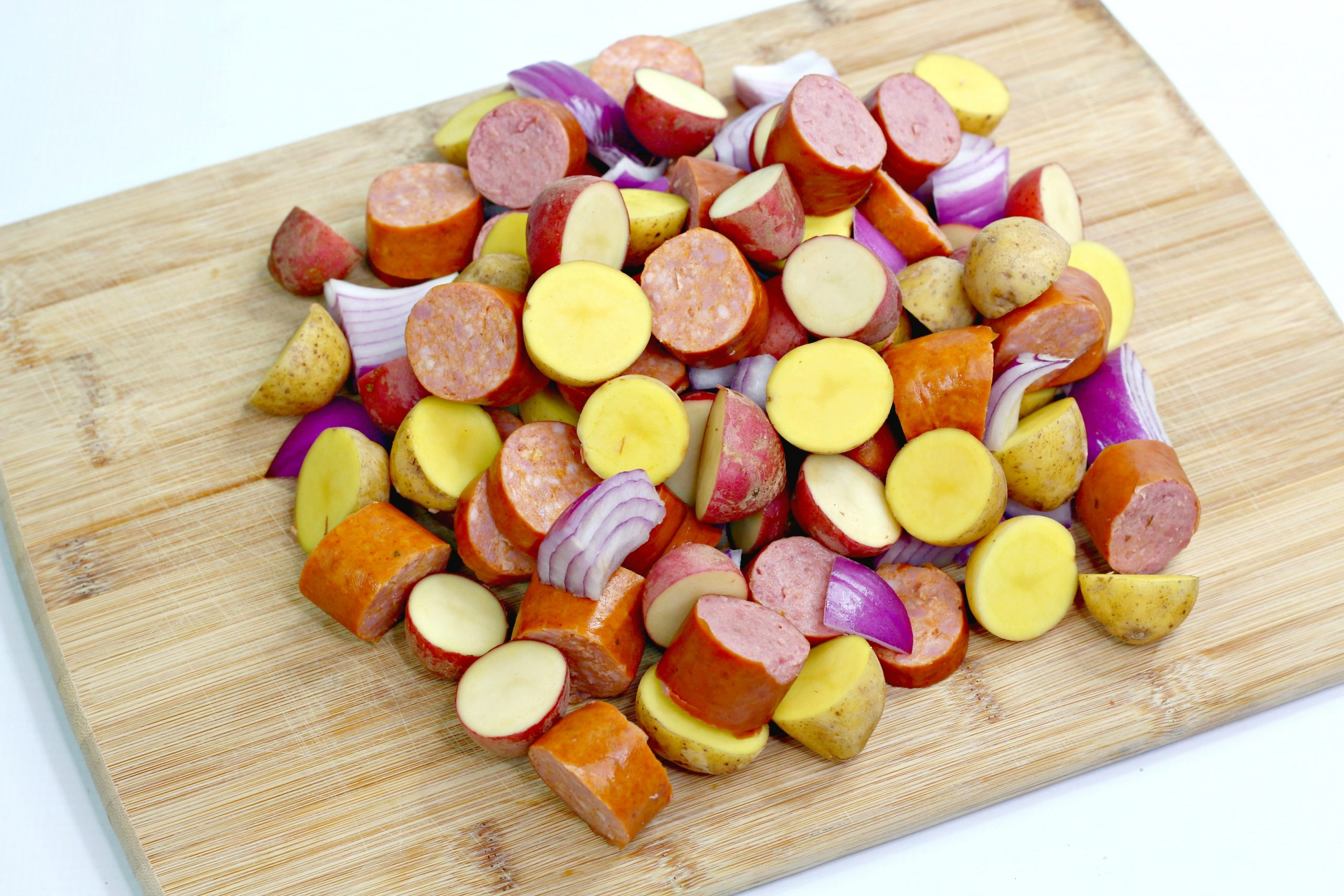oven roasted sausage potatoes 1