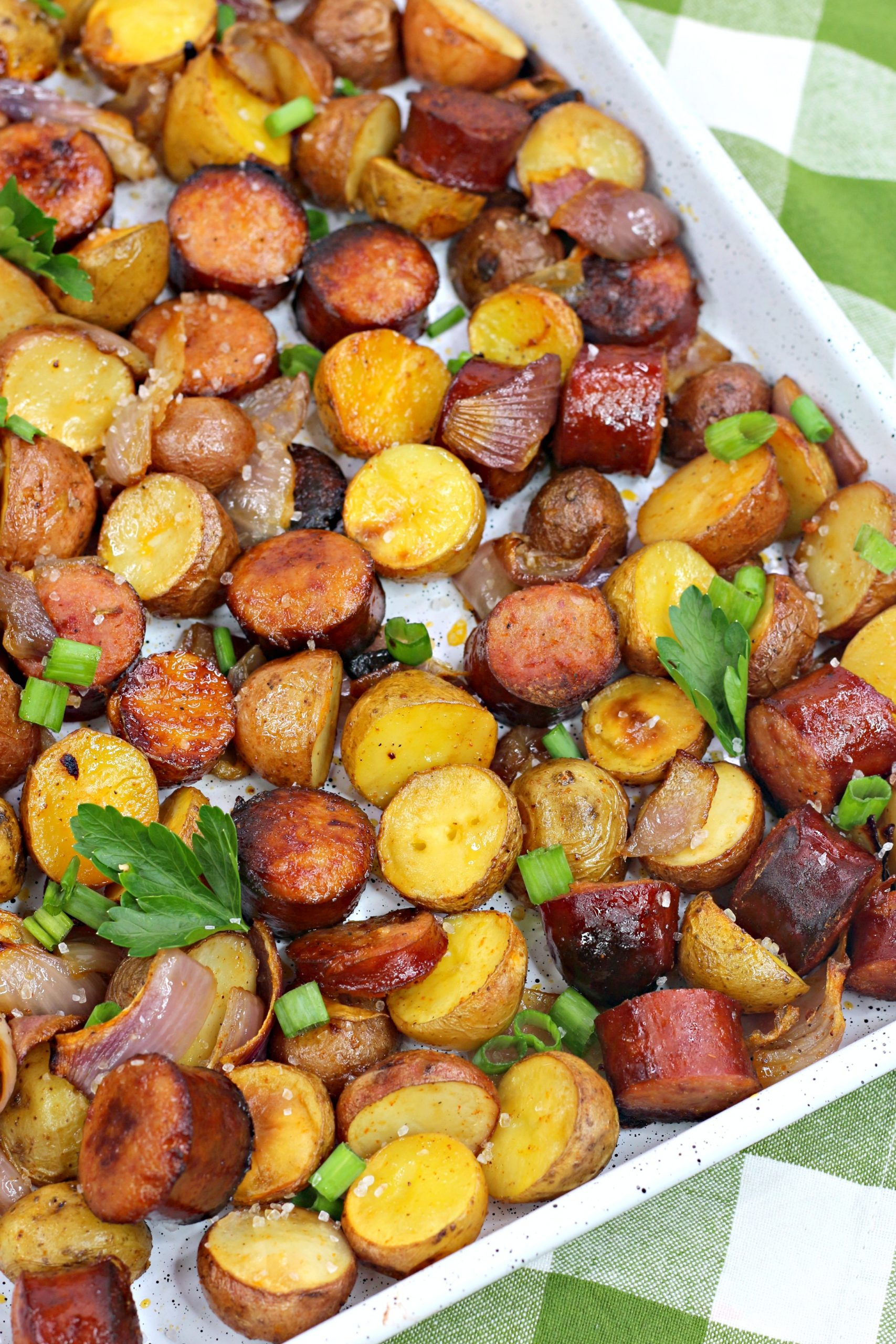 oven roasted sausage potatoes 10