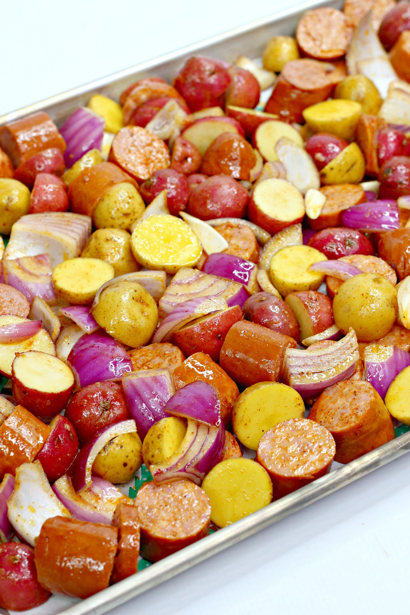 oven roasted sausage potatoes 2