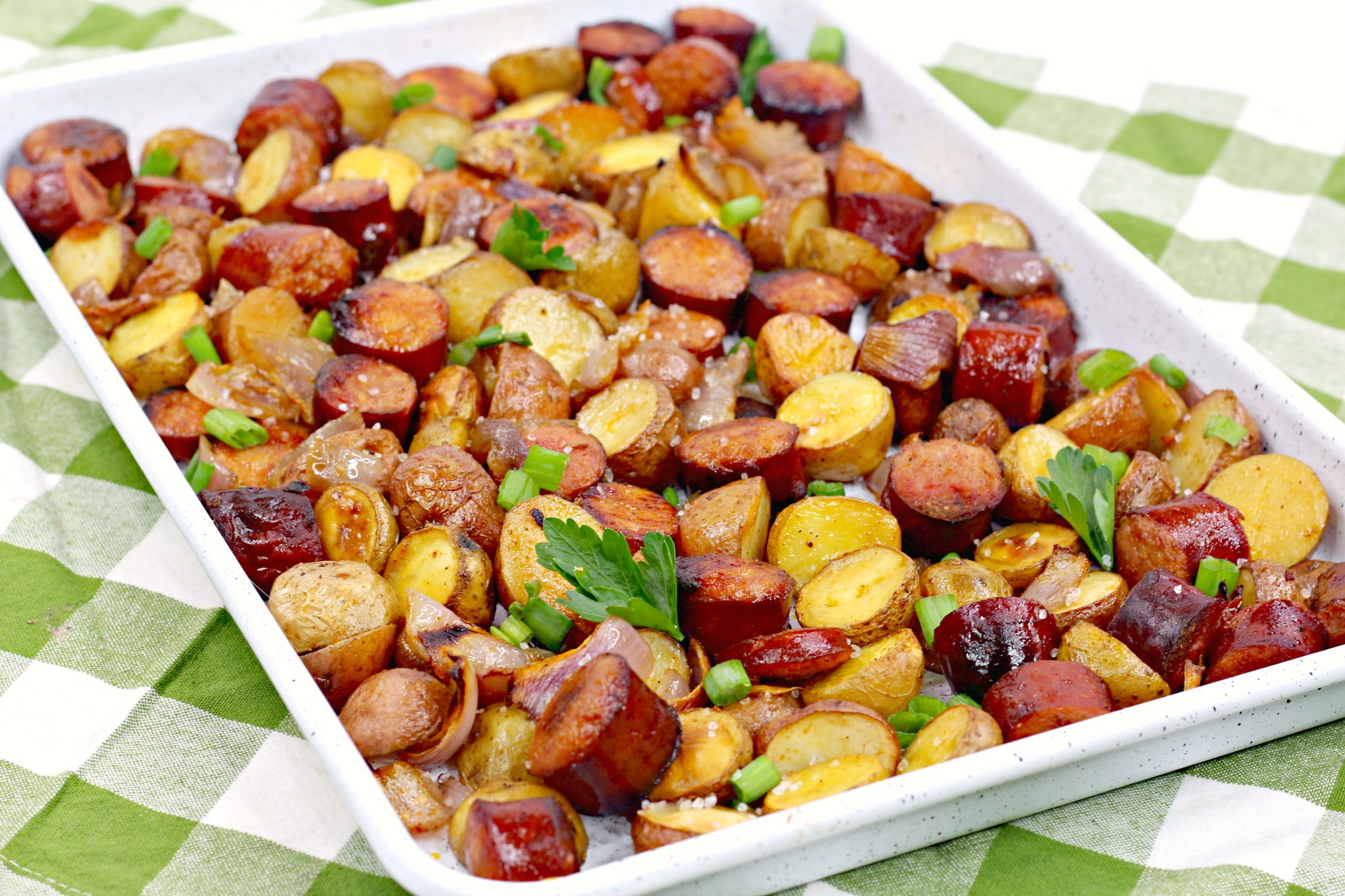 oven roasted sausage potatoes 5
