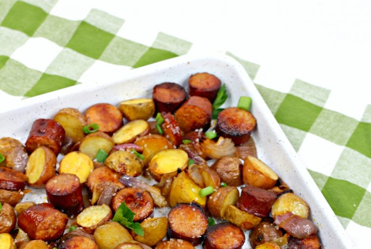 oven roasted sausage potatoes 6